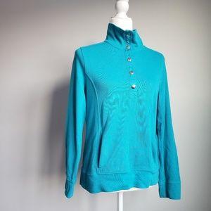Ralph Lauren Turtle Neck Button Down Sweater